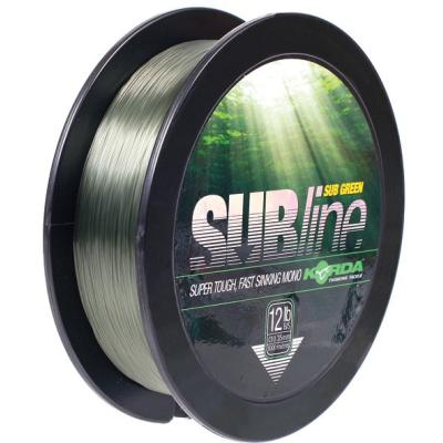 Korda SUBline- 1000 m Green 12lb / 0.35mm