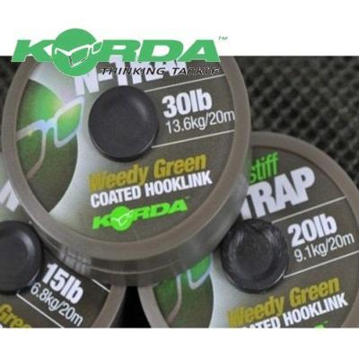 Korda N-TRAP Semi -Stiff 20m Green - 30lb