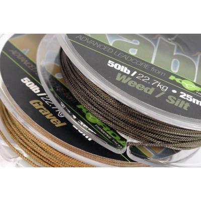 Korda Kable Leadcore - 20m Weed / Silt