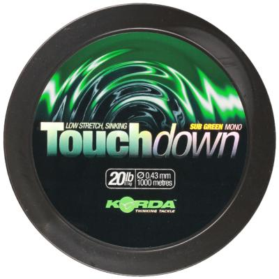 Korda Touchdown Green 15lb/0.40mm 1000m
