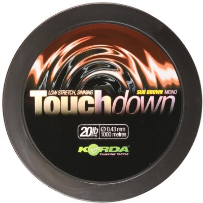 Korda Touchdown Brown 20lb/0.43mm 1000m