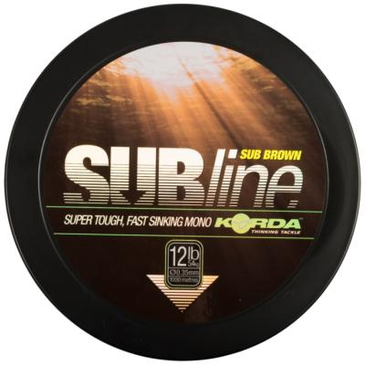 Korda Subline Brown 15lb/0.40mm 1000m