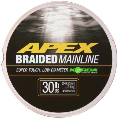 Korda Apex braided Mainline 0,23mm/30lb 450 m