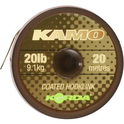 Korda Kamo coated Hooklink 30lb 20m
