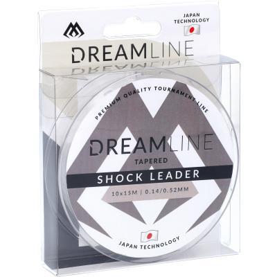 Mikado Dreamline Tapered Shock Leader 0.14-0.52mm / 10X15M