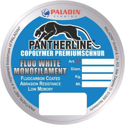 Paladin Pantherline fluo transparent 0,20 mm 300 m capacité de charge 5,1 kg