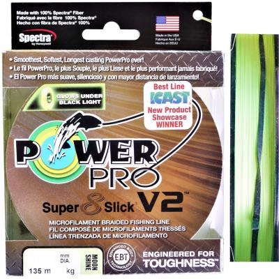 Power Pro Super 8 Slik V2 135M 0,15Mm 10Kg Moon Shine
