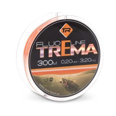 IRON TROUT Trema Line Orange 0,18mm 300m