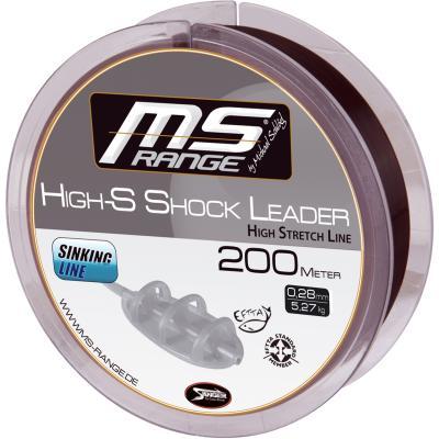 MS RANGE High-S Shockleader 0,32mm 200m