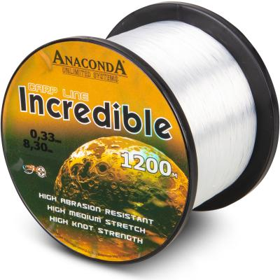 Anaconda Incredible Line tr. white 1200m 0,33mm