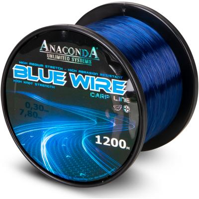 Anaconda Blue Wire dark blue 1200m 0,38mm