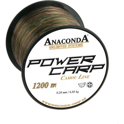 Anaconda Power Carp Camou Line 0,30mm 1200m