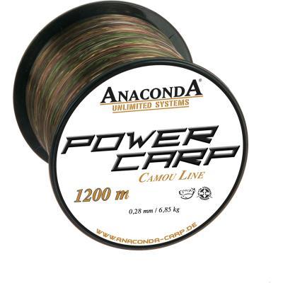 Ligne Anaconda Power Carp Camou 0,35mm 1200m