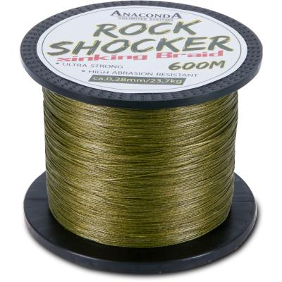 Anaconda Rockshocker sinking Braid 600m/0,25mm