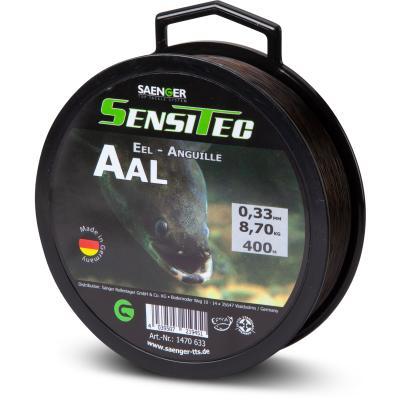 Sänger Sensitec anguille marron foncé 400m 0,30mm