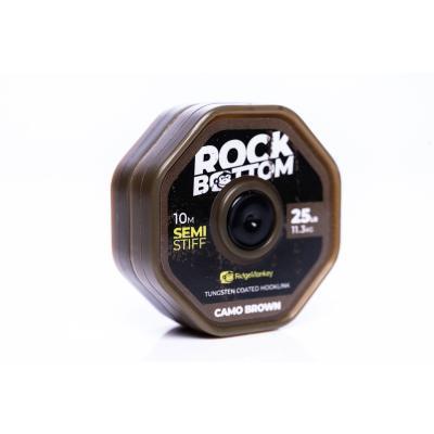 RidgeMonkey Rock Bottom Semi stiff 10m Brown 25lb