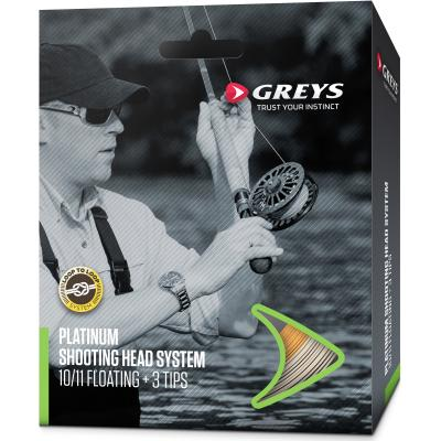 Greys Platinum Shoot Head System Floating 8/9