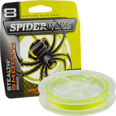 Spiderwire Stealth Smooth 8 Yellow 150M 20Lb/0,17Mm