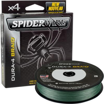 Spiderwire DURA 4 TRESSE 300M 0.17MM / 15.0KG-33LB VERT