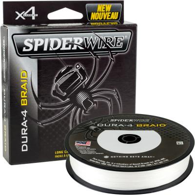 Spiderwire DURA 4 BRAID 150M 0.10MM / 9.1KG-20LB TRANSLUCENT