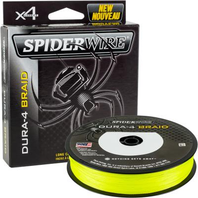 Spiderwire DURA 4 BRAID 150M 0.25MM/23.2KG-51LB YELLOW