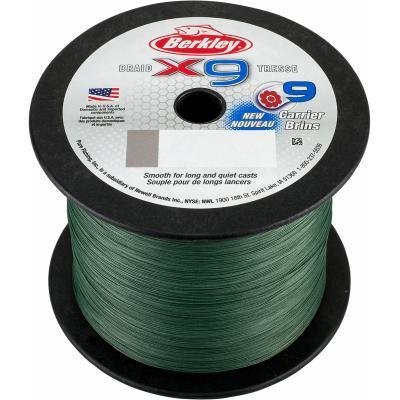 Berkley X9 Braid Low Vis Green 20lb 17.0kg 300m 0.17mm