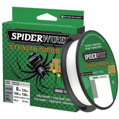 SpiderWire Stealth Smooth12 0.15MM 150M 16.5K translucent