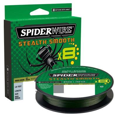 Spiderwire Stealth Smooth8 0.13mm 300M 12.7K Vert mousse