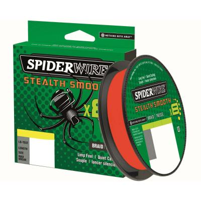 Spiderwire Stealth Smooth8 0.15mm 150M 16.5K code red