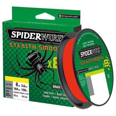Spiderwire Stealth Smooth8 0.19mm 300M 18.0K code red