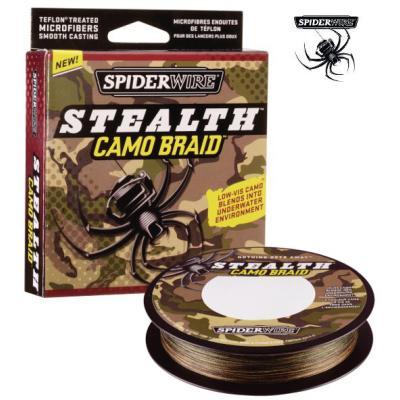 Fil d'araignée Stealth Smooth8 0.39mm 270M 46.3K CAMO