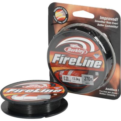 Berkley Fireline 270M 0.12MM Smoke