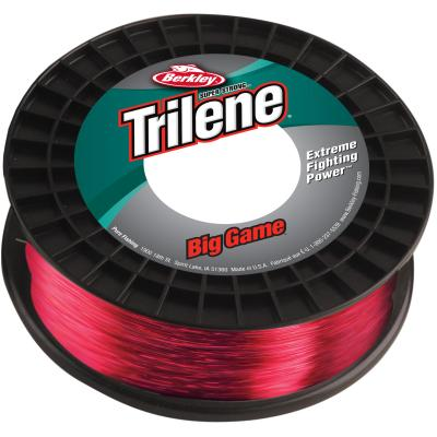 Berkley Trilene Big Game 30LB 0.48MM 600M rot