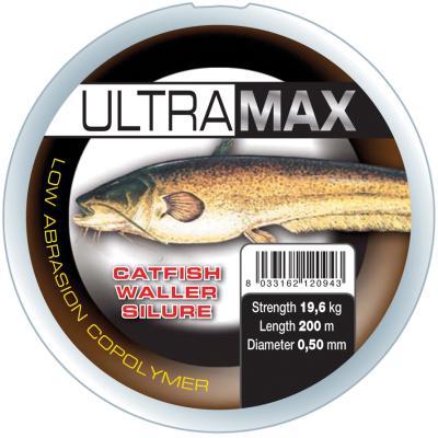 Okuma Ultramax 4oz 481m 30lbs 13.6kg 0.50mm Transparent