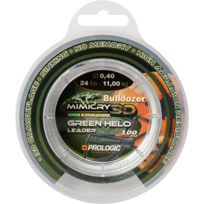 Prologic Mimicry Green Helo Leader 100m 24lbs 11.0kg 0.40mm
