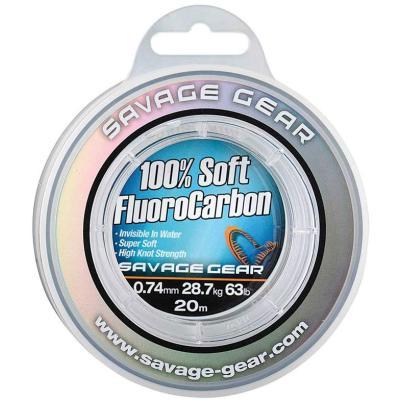 Savage Gear Soft Fluoro Carbon 0.39mm 35m 9.4kg 21lb