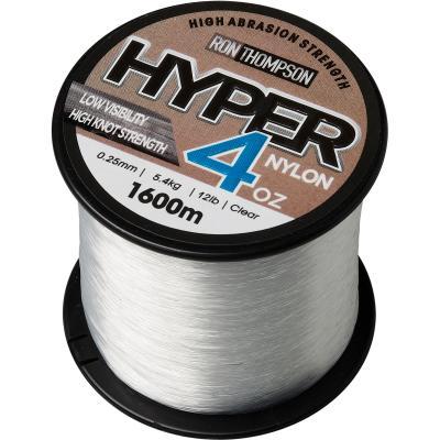 Ron Thompson Hyper 4Oz Nylon 0.25Mm 1.600M 5.4Kg 12Lbs Clear
