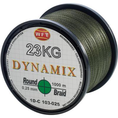 WFT Round Dynamix vert 32 KG 1000 m