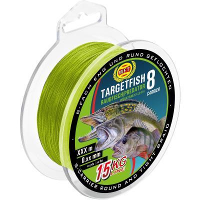 Chartreuse de poissons prédateurs WFT TF8 150m 10Kg 0,15