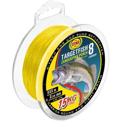 WFT TF8 Zander jaune 150m 8Kg 0,12