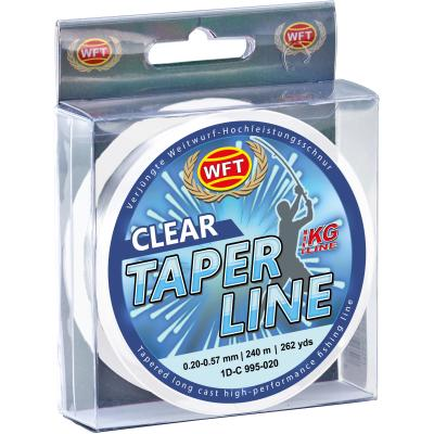 WFT Taper Line 0,28-0,57 clear 240m