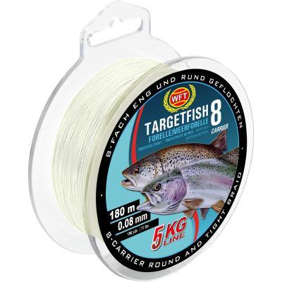 WFT TF8 truite de mer / truite trans 180m 8kg 0,12