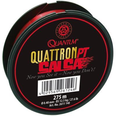 Quantum 0.22 mm, 275 m, cordon salsa,