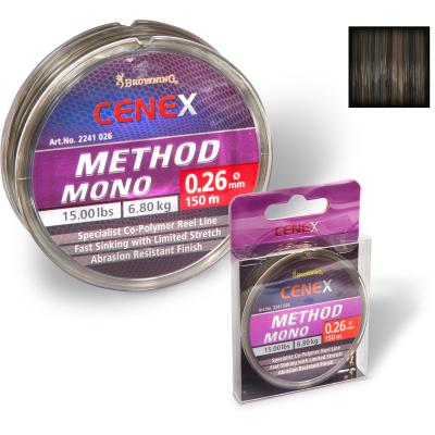 Browning 0,24mm Cenex Method Mono 150m 5,80kg,12,80lbs camou