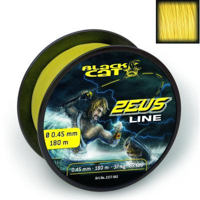 Black Cat Ø0,45mm Zeus Line 180m 37kg yellow