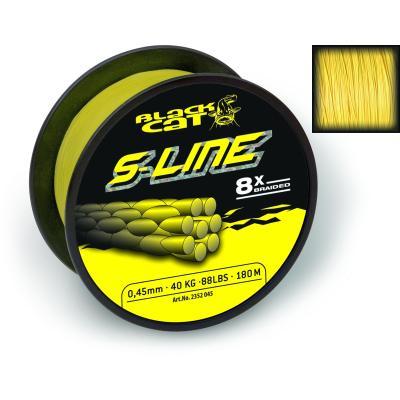 Black Cat Ø0,45mm S-Line 180m 50kg yellow