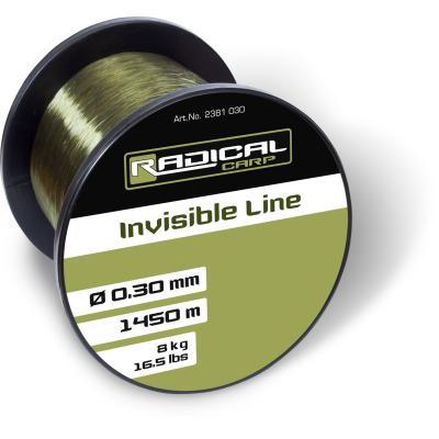 Radical Carp Ø0,30mm Invisible Line 1450m 8,0kg, 16,5lbs green