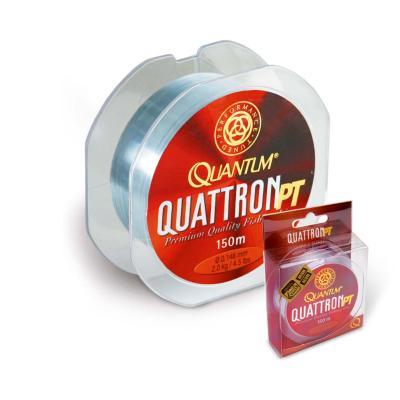 Quantum 0,331 mm Quattron PT 150 m 9,50 kg transparent