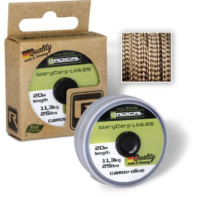 Radical WaryCarp Link 25 L: 20m 11,3kg / 25lbs camou-olive