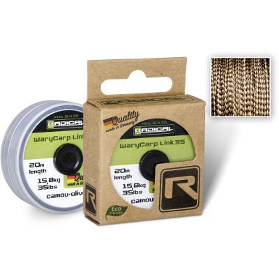 Radical WaryCarp Link 35 L: 20m 15,8kg / 35lbs camou-olive